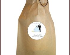 Items similar to Sunflower wedding party favor bags, Wedding favor bags, Wedding gifts on Etsy