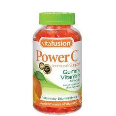 Gummy vitamin C
