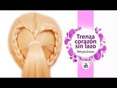 Peinados Faciles y Rapidos - Trenza Corazón en TENDENCIA - YouTube