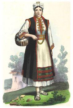 """Konavle, Zbirka ilustracija Francesca Carrare """"La Dalmazia descritta"""" (1846.)"""
