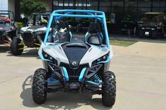 New 2016 Can-Am Maverick X xc 1000R Light Grey & Octane ATVs For Sale in Texas. 2016 Can-Am Maverick X xc 1000R Light Grey & Octane Blue, 2016 Can-Am® Maverick X xc 1000R Light Grey & Octane Blue This package takes all the ground-breaking innovations of the Can-Am Maverick and optimizes them for pure-sport performance on the trail. At 60 in., it's narrower than other vehicles in the Maverick lineup. It also includes Tri-Mode Dynamic Power Steering (DPS), Visco-Lok QE auto-locking front…