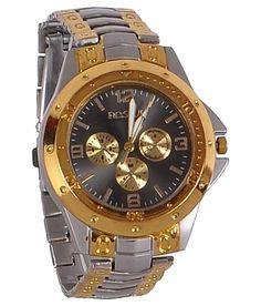 65% Off on Rosra Golden Steel Analog Watch and More Exclusive Offers. Strap Type : Metal Strap dimension in MM : 16 MM Strap material : Steel Gender : Men Display : Analog Dial Shape : Round Dial Dimension in MM : 22 MM Wearability : Casual Warranty : 6 Months http://www.oxndl.com/product-detail.php?id=MzMy