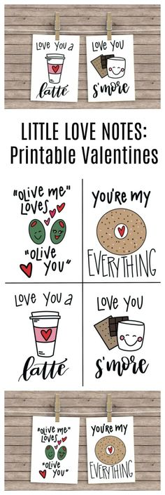 Little Love Notes: Free Printable Valentines DIY Valentine's Day Ideas for handmade Valentine cards, treats, decorations and everything Valentine's Day. Valentines For Kids, Valentine Day Crafts, Valentine Treats, Notes Free, Valentine's Day Printables, Valentine's Day Diy, Love Notes, Free Prints, Have Time