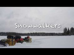 Snowwalkers Expedition - TRAILER A snowshoe expedition over the height of land from the Lake Superior to James Bay Watershed. Expedition Trailer, Lake Superior, Winter Travel, Ontario, In The Heights, Outdoors, Youtube, Outdoor, Outdoor Spaces