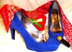 Mis zapatos favoritos azul rey CK