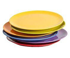Set de 6 platos para pizza en cerámica Trendy - Ø32 cm