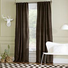 Soho Silk Window Panel | west elm