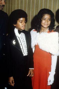 Michael and LaToya Jackson