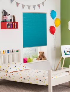 Send your child's imagination wild with our patterned blinds for children's nursery or bedrooms. Childrens Blinds, Patterned Blinds, Roller Blinds, How To Look Pretty, Toddler Bed, Nursery, Sun, Bedroom, Amazing