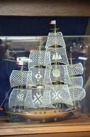 Image result for bobbin lace ship