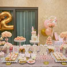 Lee Yin's 22nd Elegant Theme Birthday Party - Pink, White, Gold