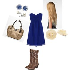 Outfit for a country wedding