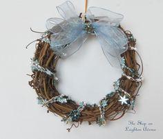 Mini Christmas Wreath 18 Doll Wreath by TheShopOnLeightonAve, $5.50