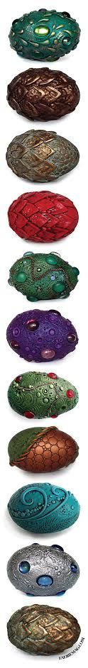 Retreat from stress by harnessing the power of your dragons. Clay Dragon, Dragon Egg, Magical Creatures, Fantasy Creatures, Anniversaire Harry Potter, Dragons, Egg Art, Marceline, Egg Decorating