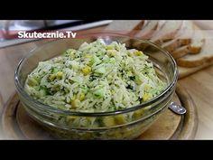 Pyszna sałatka grillowa z makaronem i ogórkiem :: Skutecznie.Tv [HD]