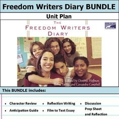 Includes anticipation guide, activities, and discussions. This bundle has everything you need to get started teaching The Freedom Writers Diary in an engaging way!