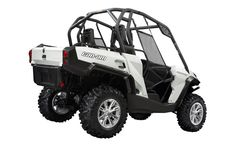 The 2013 Can-Am Commander Electric side-by-side vehicle is ready for action - News - ATV Trail Rider