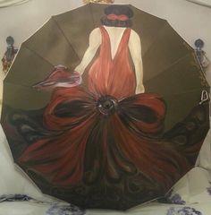 Paraguas flamenca