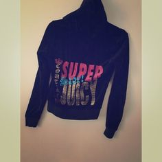 Juicy Couture Track Jacket Like New! Juicy Couture Tops Sweatshirts & Hoodies