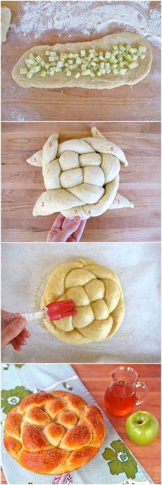 Apple Honey Challah | Bake a Bite