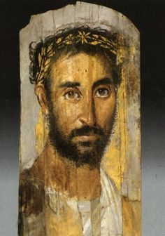 Fayum mummy portraits - Wikimedia Commons