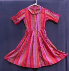 1960 s SHIRT DRESS Awesome COLOR Mary Sachs by JunqueInTheTrunque, $36.00