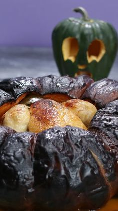 Would you ever roast your chicken inside a pumpkin?!