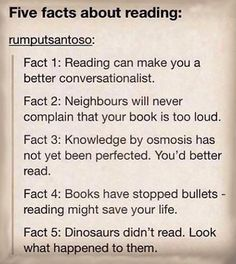Reasons Reading Is Important