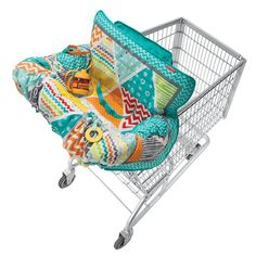 Infantino Compact Cart Cover, Teal - I found this awesome cart cover on Amazon.com and cannot wait for it to arrive!