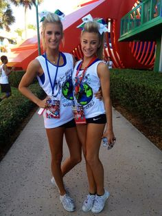 Peyton Mabry and Cami Branson, cheerleaders, competitive cheerleading, cheer moved from Kythoni's Cheerleading: Competitive board http://www.pinterest.com/kythoni/cheerleading-competitive/ m.21.79 #KyFun