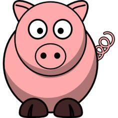 Cartoon Pig-500x500.png (500×500)