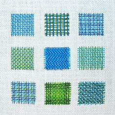 Learn how to needle weave with DMC and Mary Corbet. Needle Weaving is woven filling simply weaving on the surface of your embroidery fabric or canvas.