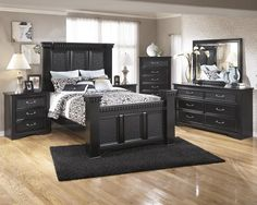 Cavallino - 5pc Queen Mansion Bedroom Set – Outfit My Home