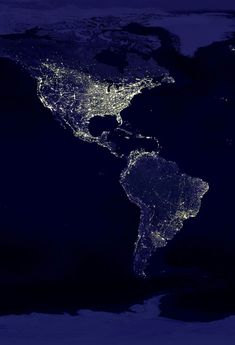 North and South America seen from Space...Amazing!