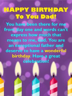 135 best birthday cards for father images on pinterest in 2018 send free all that you do happy birthday card for father to loved ones on birthday greeting cards by davia its free and you also can use your own m4hsunfo