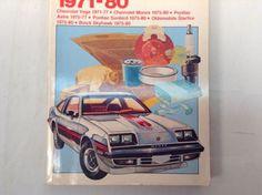 Chilton's Repair Manual GM SUBCOMPACT 1971-1980 Vega Monza Astre Sunbird 6935