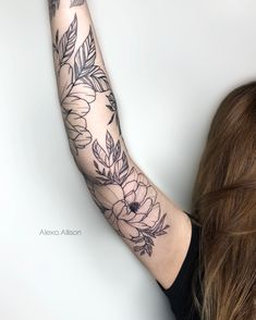 Tattoo Plant Flowers - New Tattoo Models Hand Tattoos, Arrow Tattoos, Flower Tattoos, New Tattoos, Body Art Tattoos, Sleeve Tattoos, Cool Tattoos, Tattos, Phoenix Tattoos