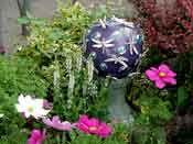 Garden Art from Junk...Recycling at its best!