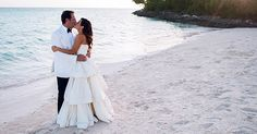 A beach bonfire, scavenger hunt, and Junkanoo band—what more could you ask for in a Bahamian wedding? Destination Wedding Inspiration, Destination Weddings, Beach Bonfire, Bridezilla, White Wedding Dresses, Wedding Planning, Wedding Day, White Dress, Wedding Photography
