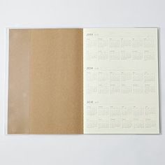 B5 Monthly 2014 diary