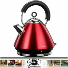 Berry Blue Traditional kettle by Morphy Richards on brandsExclusive George Foreman, Small Kitchen Appliances, Home Appliances, Kitchen Gadgets, Traditional Kettles, Berry, Russell Hobbs, Domestic Appliances, Thing 1