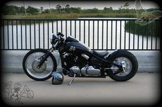 v-star bobber - left | tail end customs