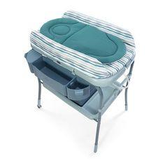 Table à langer avec baignoire Cuddle & Bubble Comfort Wild - Bleu Main