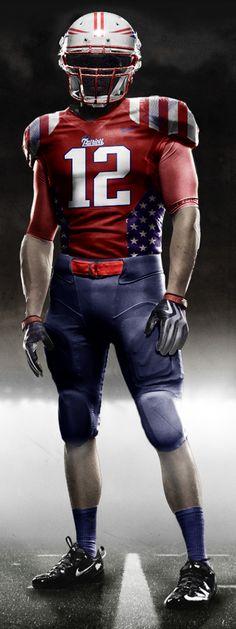 The new Patriots jerseys.