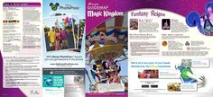 Magic Kingdom: New Map and Times Guide (March 2014)