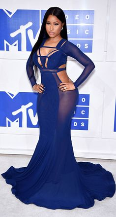 Blue dress nicki minaj upcoming