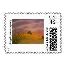 "'Desert Sun,"" Package of Postage Stamps and other Postage Items you can only Buy Now at www.Zazzle.com/ctgallery and Artwork by Kelly Imber!"