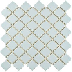 Flora Decor Tile Somertile 12X12Inch Spring Flora Porcelain Mosaic Floor And Wall