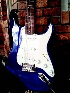 My Strat #1. Blue Boy