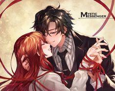 Imagen de anime, jumin, and couple